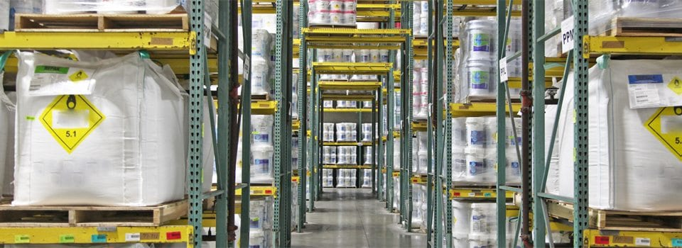 Stellar Warehousing - Image of warehousing space at Stellar Manufacturing