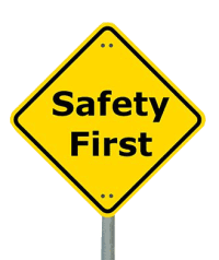 Environmental Health and Safety at Stellar Manufacturing - Image of a safety sign