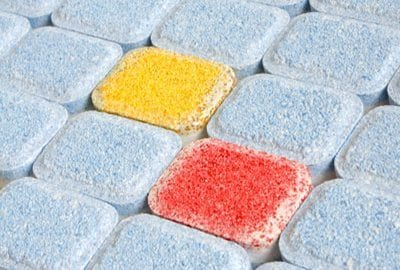 Stellar Manufacturing Services for Consumer Products - Image of dish detergent tablets